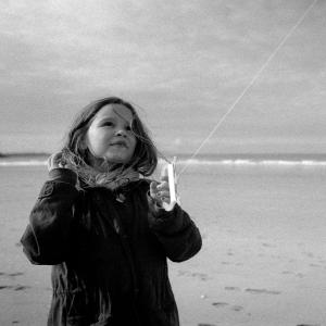 Petite fille au cerf volant